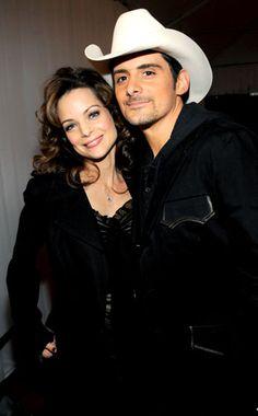 Brad Paisley and his wife, Kimberly :)