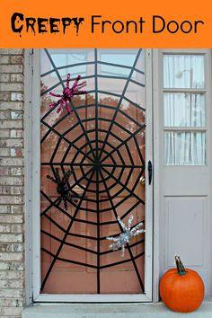 ✿ڿڰۣ Washi Tape Spider Web     #halloween #washi #diy #spider #web #Pintowingifts