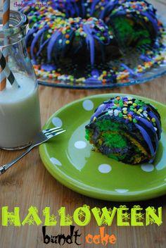 Halloween Bundt Cake.