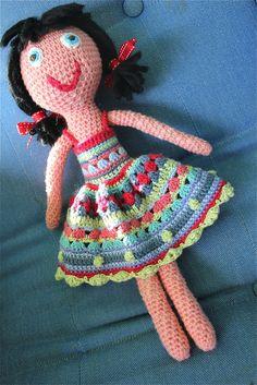 Crochet doll..... too cute!