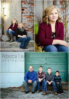 Rebecca Laurel Photography urban family photo shoot