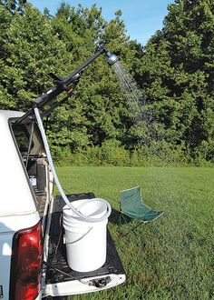 Simple Project Of The Month: The DIY Camping Shower, Popular Science
