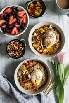 Savory Oatmeal with