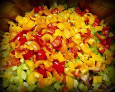 Beatitudes, Blessings & Broadcasts: Louisiana Bayou Chicken Pasta - Trim Healthy Mama Style