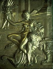 Phyllis riding Aristotle