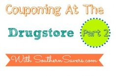 Live Q&A Spreecast: Couponing At The Drugstore Part 2 (Tonight!)