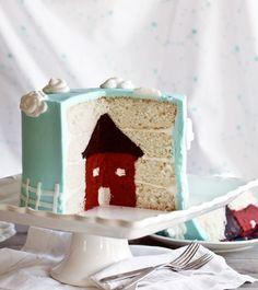 Final house cake