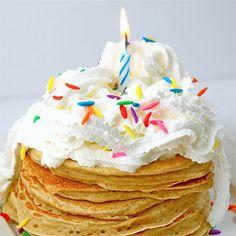 birthday pancakes...fun