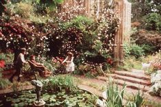 The Secret Garden is one of my favorite stories and was also one of my favorite films as a child. I watched it tonight with Owen for the first time. The set design, costumes, location are all to die for. I want a secret garden!