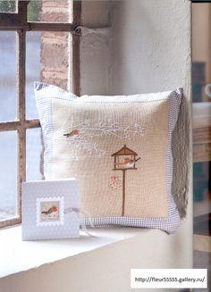 Gallery.ru / Фото #59 - 36 - Fleur55555; Little Snowbirds from Russia; beautiful as a pillow or framed.