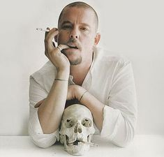 """""""I think there is beauty in everything. What 'normal' people would perceive as ugly, I can usually see something of beauty in it."""" – Alexander McQueen"""