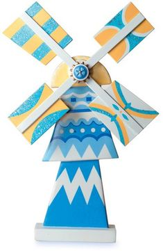 WDCC Disney Classics It's A Small World Holland Windmill - inspiration
