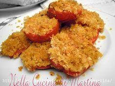 Pomodori gratinati al forno, ricetta contorno