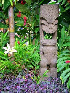 Tiki In The Garden - Mary Deal