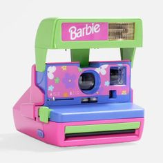 {Polaroid 600 Barbie Camera Kit} Impossible Project limited release! totally rad :) @Madalena Oliveira Project