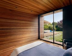 wood walls for porch