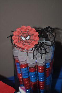 "Photo 12 of 14: Spiderman / Birthday ""Hank & Jake's Spiderman Birthday Party"" | Catch My Party"
