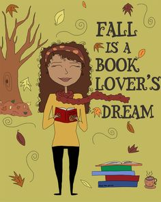 Fall is a book lover's dream.