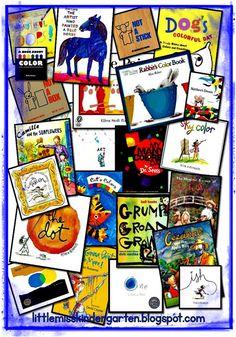 Little Miss Kindergarten - Lessons from the Little Red Schoolhouse!: Art book picks!