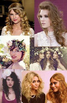 Bohemian hair styles