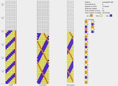 koralikomania: Wzory sznurków