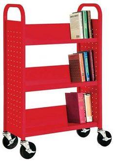 book truck shelf kid books, trucks, booktruck, library books, kid rooms, boy rooms, librari, book truck, library furniture