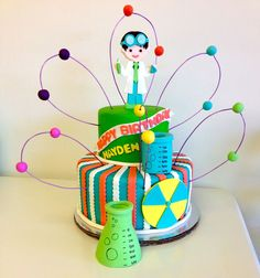 cute Science Cake
