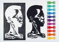 Elizabeth Catlett...THERE IS A WOMAN IN EVERY COLOR