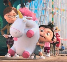its do fluffy. despicable me. unicorn