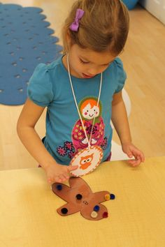 ... decorate the gingerbread baby. This is a great task for hand-eye