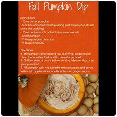 Yummy Pumpkin Dip :)
