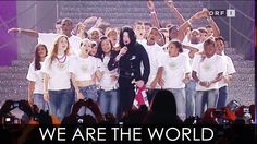 """Michael Jackson - """"We Are The World"""" live at World Music Awards 2006 - HD"""