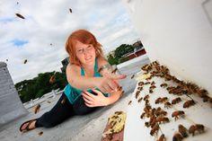 lepeupledesabeilles ladi beekeep, gardenista urban, farmer, bee garden, rooftop beekeep, urban beekeep, beekeep podcast, megan paska, natur beekeep
