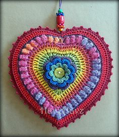 Adele Hanging Heart - pattern $