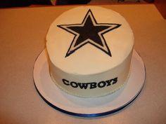dallas cowboy cake -