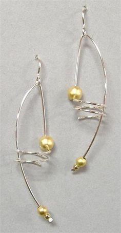 lovely pearl earrings DIY earring jewelry fashion large hoop earring gold pearl jewelry fashion