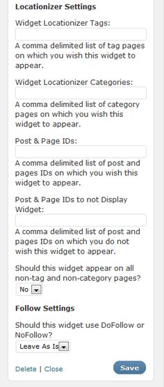 Hide a Widget Plugin - recommended by the WordPress chick