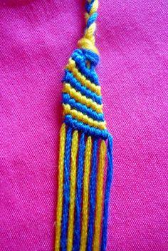 Friendship bracelets candy wave