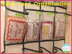 Task Card Storage & Organization