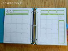 31 Days of Home Management Binder Printables: Putting it All Together | Organizing Homelife