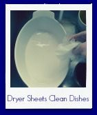 Dryer Sheet Cleans Baked On Food - Simply Sherryl
