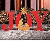 Joy Sign Outdoor...
