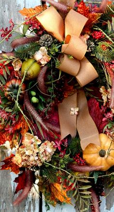fall wreath...