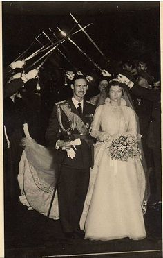 the wedding of Prince Jean of Luxembourg (later Grand Duke) and Princess Josephine Charlotte of Belgium