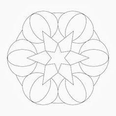 Blank Zentangle Template - C # ile Web\' e Hükmedin!