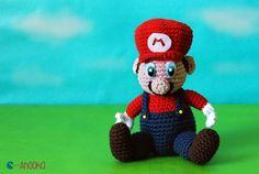 Amigurumi Super Mario - FREE Crochet Pattern / Tutorial