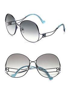 These Balenciaga shades.