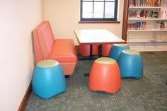 Would love to have the space to have a few of these booths in our library
