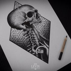 Tattoo Artwork by Ien Levin