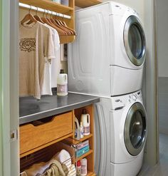 Would LOVE to have my washer and dryer in a laundry room near the master suite!